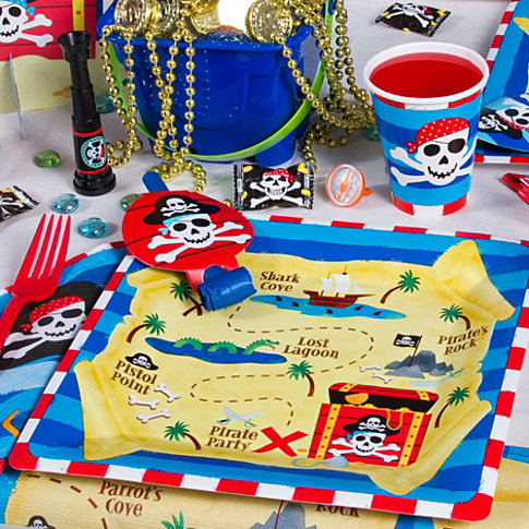 Pirate Birthday Party Captain Hook Treasure Map