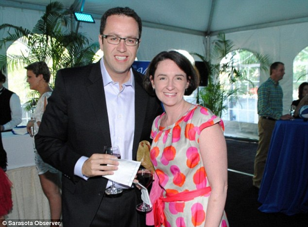 Jared Fogle and his wife Katie (above) finalized their divorce on November 16